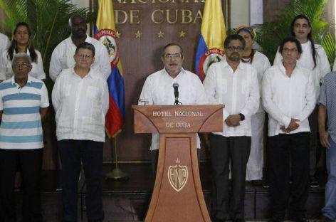 Colombia, las FARC declaran el alto el fuego definitivo