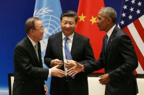 China y EE.UU firman el acuerdo de la Cumbre del Clima