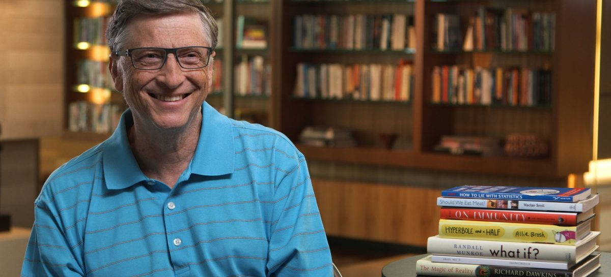 Los 10 libros favoritos de Bill Gates