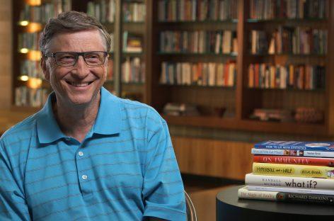 Los 10 libros favoritos de Bill Gates