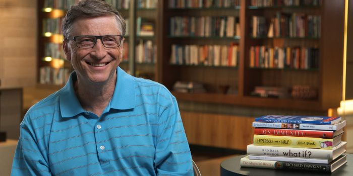 Los 10 libros favoritos de Bill Gates <small class=