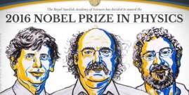 "La ""materia exótica"", el premio Nobel de Física 2016"