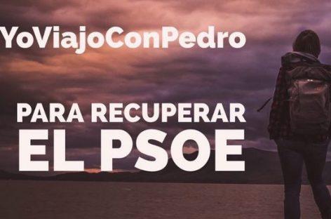 #YoViajoConPedro: el apoyo a Pedro Sánchez en Twitter
