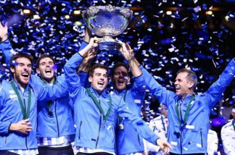 Argentina hizo historia este domingo al lograr su primer título de Copa Davis