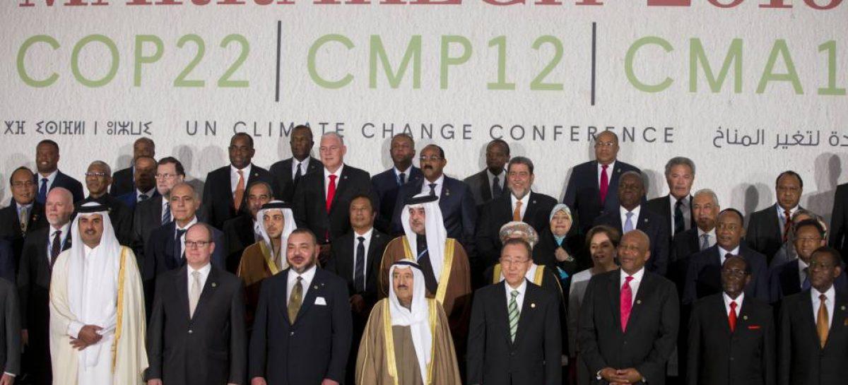 """La Cumbre de Marrakech proclama que la lucha contra el calentamiento es """"irreversible"""""""