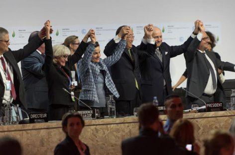 Entra en vigor el Acuerdo de París contra el cambio climático