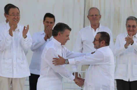 Colombia logra un nuevo acuerdo de paz
