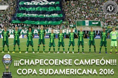El Chapecoense campeón de la Copa Sudamericana 2016