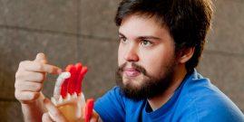 Un joven de 21 años ha tenido una de las mejores ideas que cambiarán el futuro de las prótesis de manos