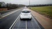 Francia tiene el primer tramo de ruta solar del mundo