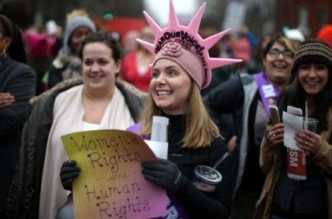 Protestan en Washington y otras ciudades del mundo contra Donald Trump