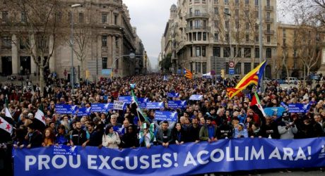 La protesta más numerosa en Europa por la actual crisis de los refugiados