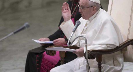 El Papa pide mostrar las posibles soluciones