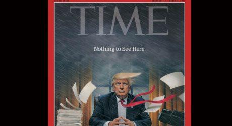 "Time sobre Donald Trump: ""Caos"" en la Casa Blanca"