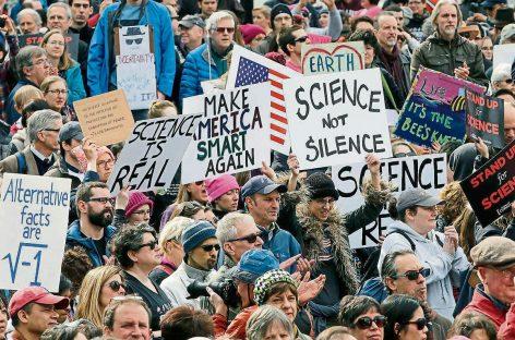 La Marcha para la Ciencia contra Trump
