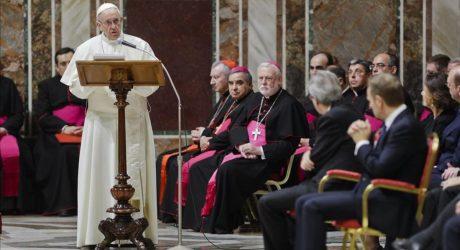 El Papa reclama una UE solidaria