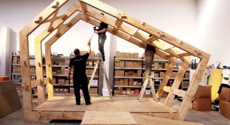 Montar una casa como un mueble de Ikea