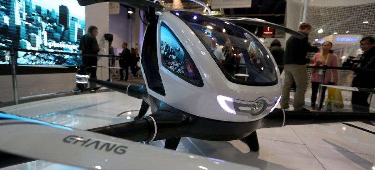 Taxis voladores como solución al tráfico