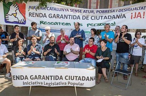 Cataluña aprobará la Renta Garantizada de Ciudadanía