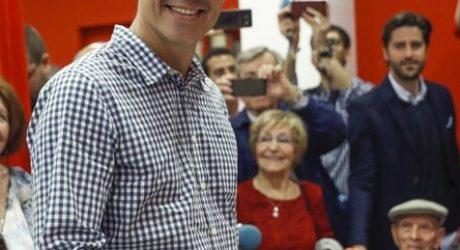 Pedro Sánchez gana las primarias en el PSOE