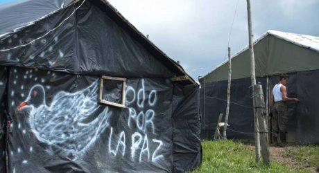 Las FARC entregan las armas