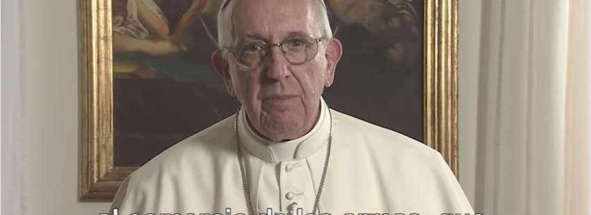 El Papa Francisco ha pedido compromiso para acabar con el comercio de armas