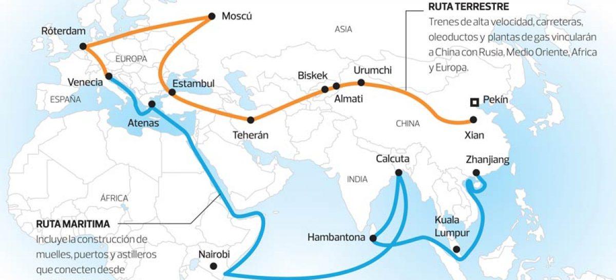 China y su ambicioso proyecto de La Ruta de la Seda