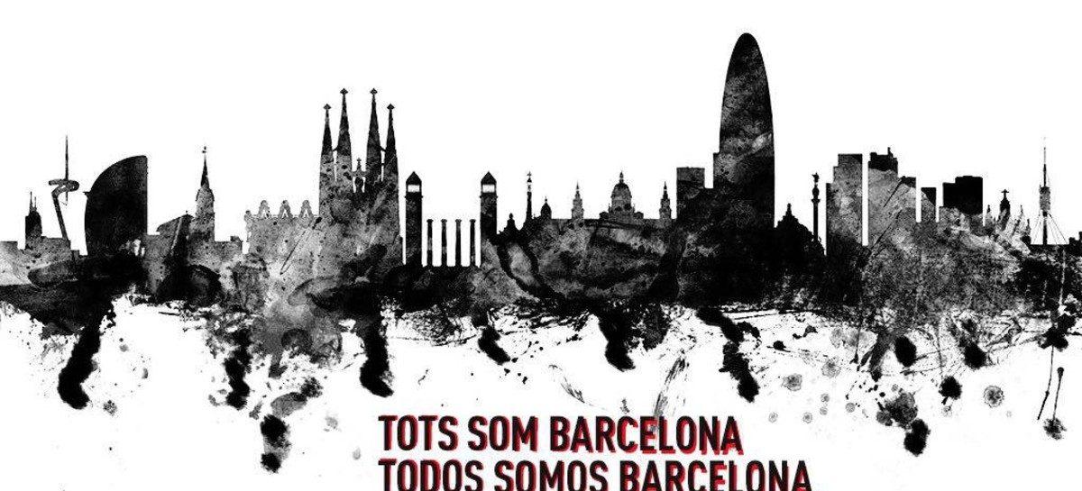 Todos somos Barcelona. Tots som Barcelona