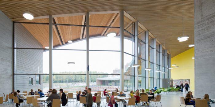 Finlandia está transformando la arquitectura de sus escuelas