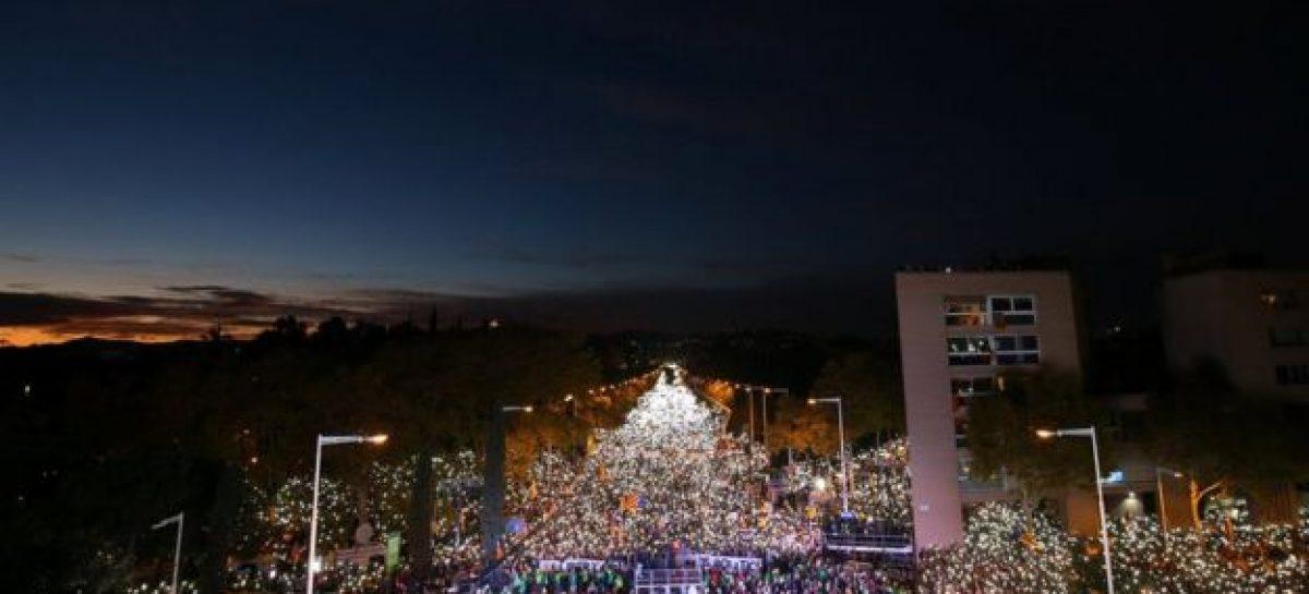 Barcelona pide la liberación de los líderes independentistas de Cataluña