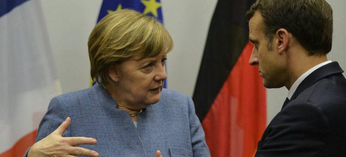 Merkel y Macron impulsan la lucha contra el cambio climático