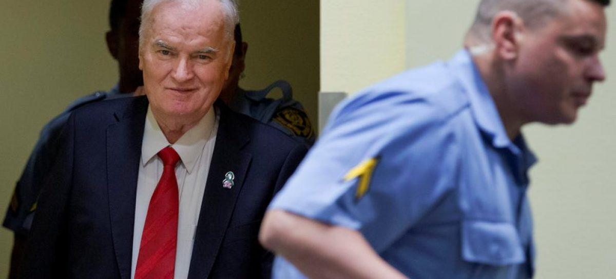 Cadena perpetua para Ratko Mladic, ex militar serbiobosnio