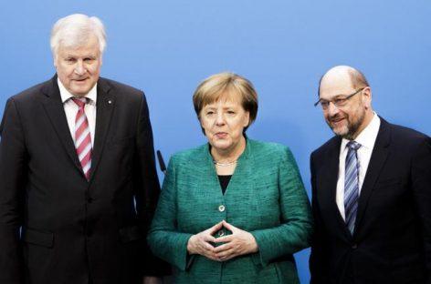 Acuerdo en Alemania con un gran pacto
