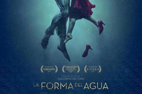 'La forma del agua', la mejor película de los Oscar 2018