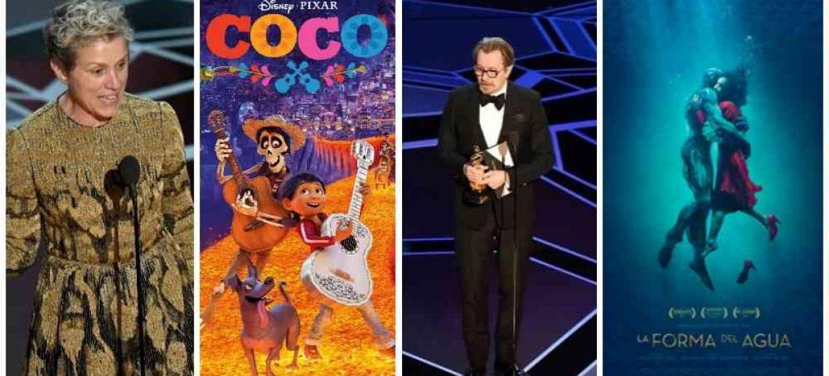Todos los Oscars 2018