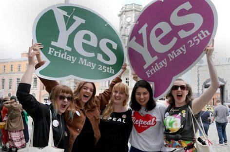 'Sí' mayoritario en el referéndum del aborto en Irlanda