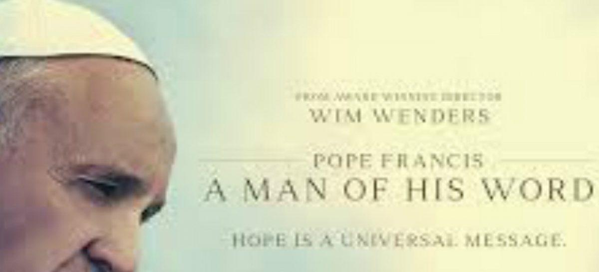 Un documental sobre el Papa Francisco llega a Cannes