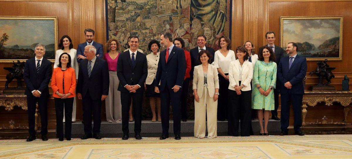 España rompe barreras con el nuevo gobierno feminista