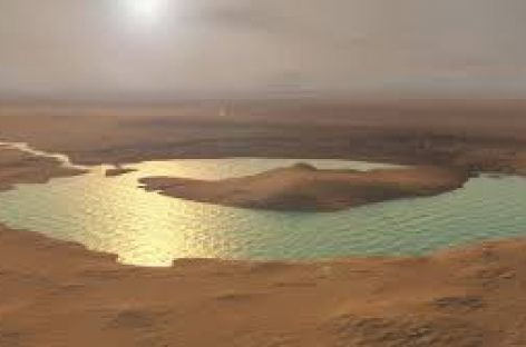 El hallazgo de un gran lago bajo el hielo de Marte