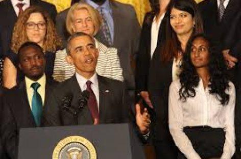 Obama cree necesario un mayor liderazgo femenino para mejorar la política