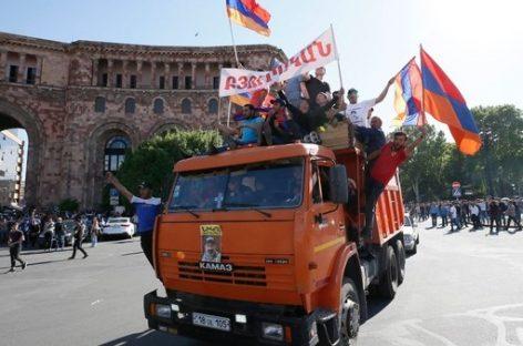 Armenia y su revolución pacífica
