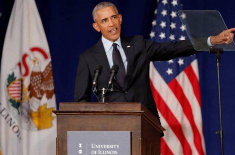 Obama pidió a los demócratas a votar en masa en Noviembre