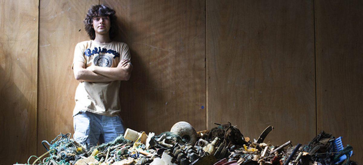 El joven héroe que quiere salvar los océanos