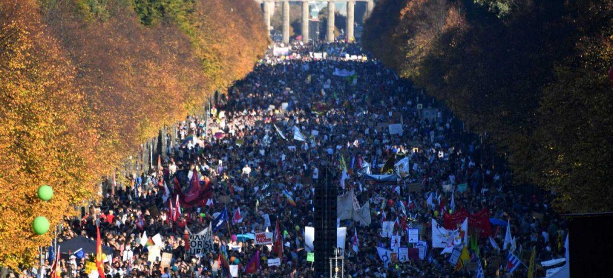 Berlín en contra del racismo y a favor de una sociedad abierta