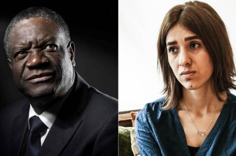 Denis Mukwege y Nadia Murad Nobel de la Paz 2018