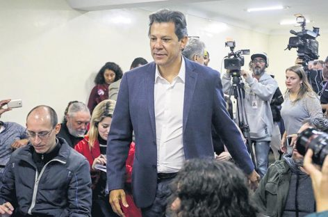 En Brasil analizan armar un frente amplio