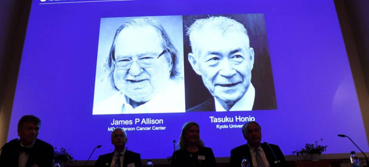La inmunoterapia ganan el Nobel de Medicina 2018