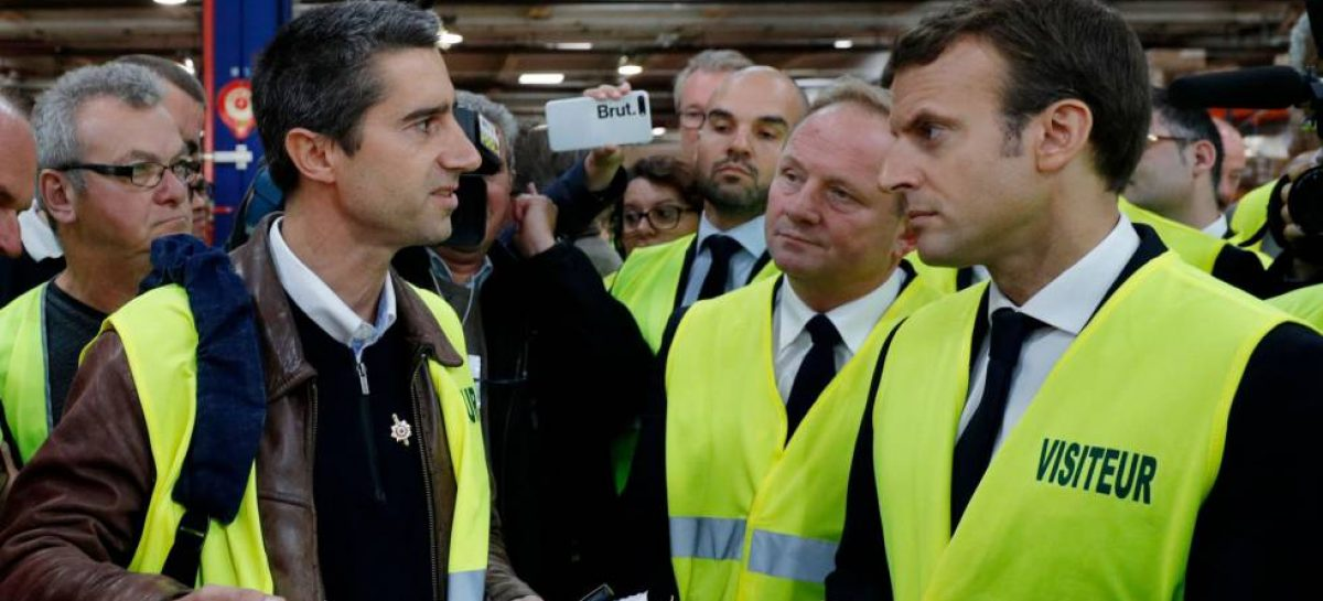 Macron reducirá los impuestos a la clase trabajadora de Francia