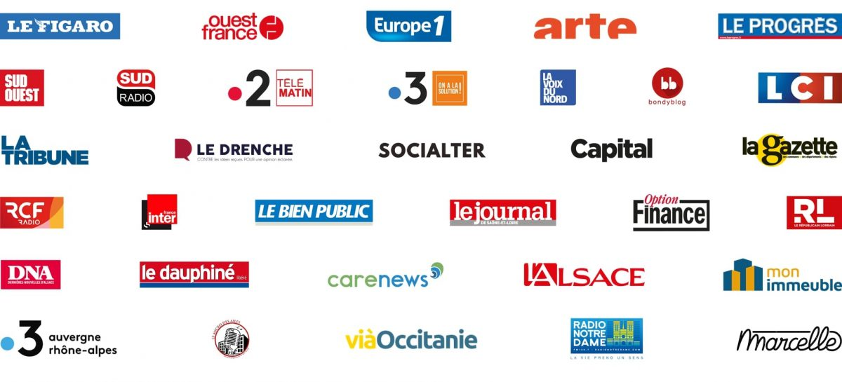 Medios de comunicación franceses se movilizan para mostrar las soluciones