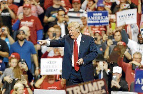 Donald Trump a prueba en unas elecciones legislativas cruciales